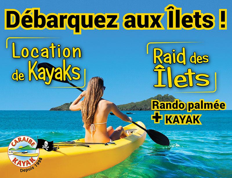 Panneau 4x3 Caraïbe Kayak