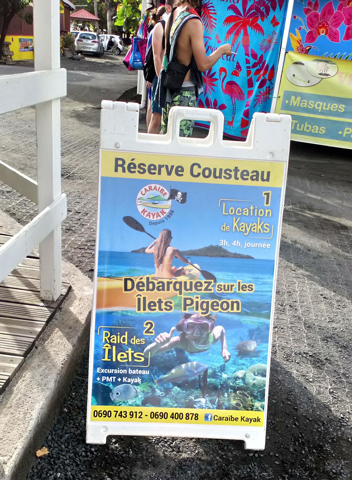 Stop Trottoir Caraïbe Kayak