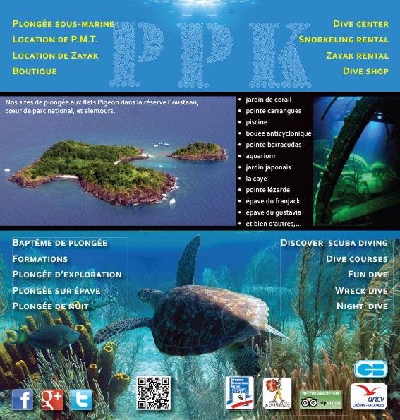 PPK Plongée : flyer intérieur