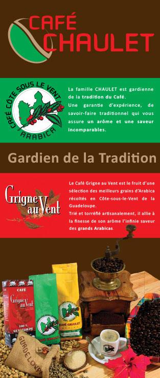 Café Chaulet : stand mobile